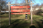 Forest Park Sign